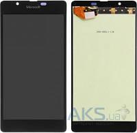 Дисплей (экран) для телефона Microsoft (Nokia) Lumia 540 Dual Sim + Touchscreen Original Black
