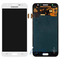 Дисплей (экран) для телефона Samsung Galaxy J5 Duos J500F, Galaxy J5 Duos J500H, Galaxy J5 Duos J500M + Touchscreen Original White