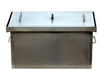 Коптильня черный металл 520х300х280 мм