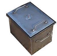 Коптильня черный металл 400х300х280 мм