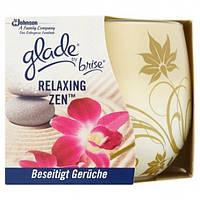 Свеча ароматизированная Glade Brise Relaxing Zen, 120 г