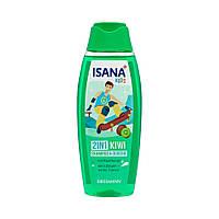 Гель для душа + шампунь детский ISANA Kids 2 в 1 киви, 300 мл