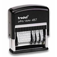 Датер - мини 3,8 мм бухг.  TR 4817  700828