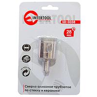 Коронка трубчатая по стеклу и керамике 28 мм INTERTOOL SD-0358