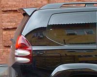 Задний спойлер (серебро) со стопами Toyota Prado 03+