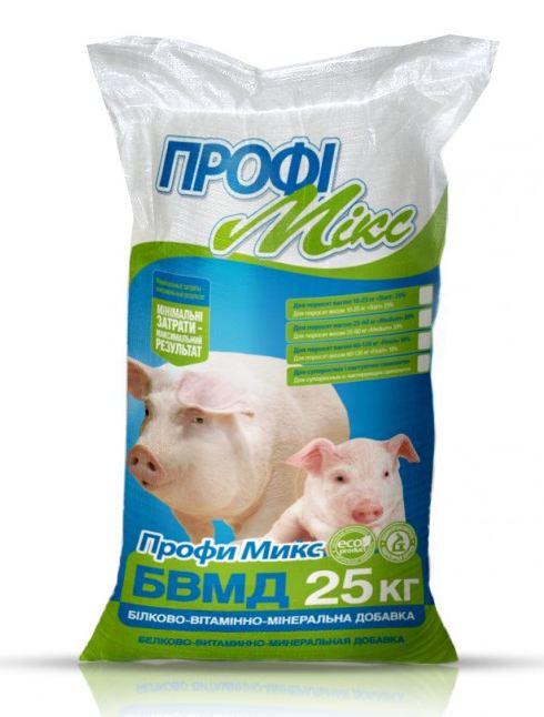 БВМД Профимикс для супоросных 10% и лактирующих 20% свиноматок, 25кг