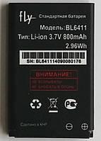 Аккумулятор Original для телефона Fly  DS104D, DS107D, TS90, TS91, (BL6411)