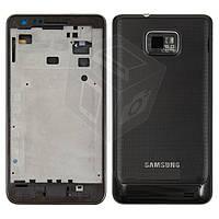 Корпус для Samsung Galaxy S2 i9100, черный, оригинал