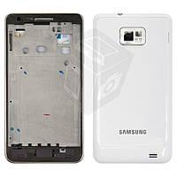Корпус для Samsung Galaxy S2 i9100, белый, оригинал