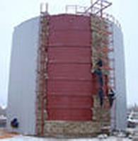 Производство и монтаж резервуаров стальных с теплоизоляцией  Для бесперебойного обеспечения потребителей : маз