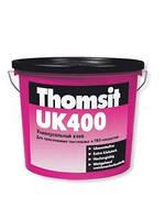 Универсальный воднодисперсионный клей для ПВХ и текстильных покрытий Thomsit UK 400, 14 кг