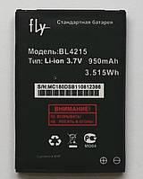 Аккумулятор Original для телефона Fly MC180, Q115 950mAh  (BL4215)