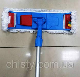 Швабра для влажной уборки Clack на зажимах