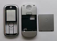 Корпус для телефона Motorola C257 High Copy full, серебро