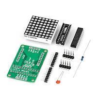 Матричный светодиодный дисплей MAX7219(набор для сборки)