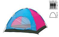 Палатка 4-х местная полусфера однослойная
