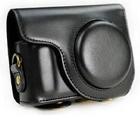 Кожаный чехол для Nikon COOLPIX P300, P310, P330 Black