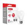 Акция! Светодиодная лампа MAXUS 10Вт A60 E27 2шт