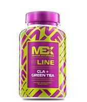 CLA - Конъюгированная линолевая к-та MEX Nutrition CLA + Green Tea 90 softgels