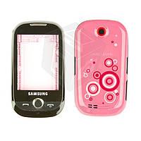 Корпус для Samsung S3650 Corby, розовый, оригинал
