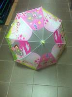 Зонт детский силиконовый Розовый