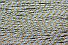 Канат декоративный тейлон 3,5 мм (100м) голубой+золото