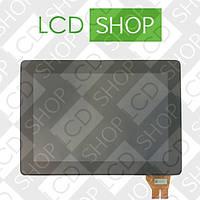 Модуль (дисплей + тачскрин) для планшета 10.1'' ASUS PadFone 3 Infinity A80 Station, чёрный с рамкой