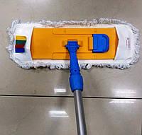 Швабра для влажной уборки с кармашками