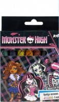 "Восковые карандаши 8 цветов Jumbo ""Monster High"" Kite """