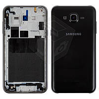 Корпус для Samsung Galaxy J7 J700 H/DS, черный, оригинал