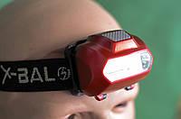 Налобный фонарик на батарейках BL-2088