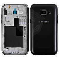 Корпус для Samsung Galaxy J1 J100H/DS, черный, оригинальный