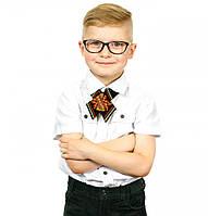 Детский кросс-галстук с вышивкой