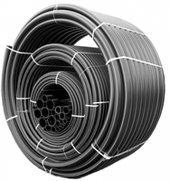 ПЭ труба DELTA чёрная д.63 PN10 (4,7мм)