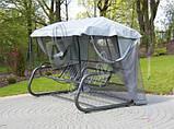 Садові качелі з москіткою RIMINI Venezia, 4 місна, фото 5