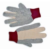 Перчатки х/б с резиновым вкраплением L