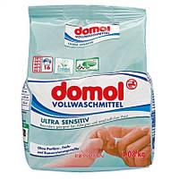 Domol Ultra Sensitiv Vollwaschmittel - Детский стиральный порошок гипоаллергенный, 16 стирок, 1,08 кг