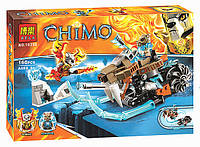 "Конструктор Bela Chima 10350 (реплика Lego Chima) ""Саблецикл Стрейнора"", 160 дет, фото 1"