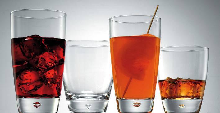 Набор стаканов низких (3 шт/260 мл) Bormioli Rocco  LUNA DOF 191180Q01021990, фото 2
