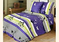 Ткань для постельного белья, бязь белорусская Мотыльки