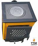 КОТВ-14П Котел твердотопливный с плитой, фото 2