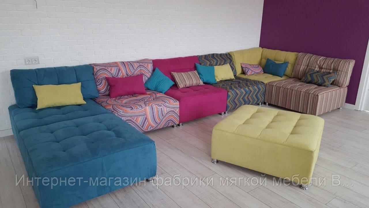 купить мягкий модульный диван донна в украине цена размеры