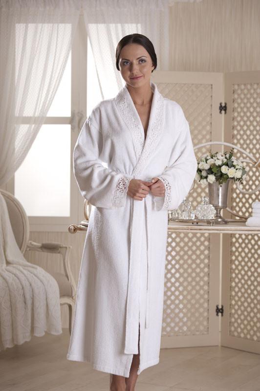 3c1e0bb84ffe Банный махровый халат женский