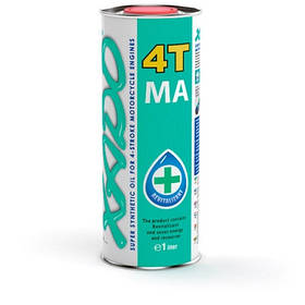 Масло четырехтактное XADO Atomic OIL 10W-40 4T MA SuperSynthetic 1л