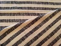 Ткань лен полоска