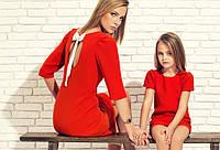 Модный тренд сезона — мама и дочка в одинаковых платьях