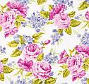 Товар месяца в марте 2016 - ткани с цветочными принтами