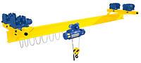Кран-балки мостовые электрические однобалочные подвесные Q – 1т, H – 6м, L – 6м