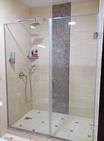 Скляні душові перегородки в приватному готелі