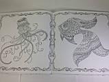 Розмальовка Загублений океан Джоанн Басфорд антистрес, фото 3